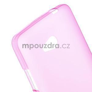 Matný gelový kryt na Microsoft Lumia 640 LTE - rose - 4