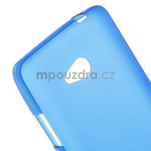Matný gelový kryt na Microsoft Lumia 640 LTE - modrý - 4