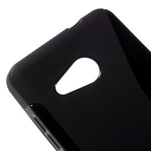 S-line gelový obal na mobil Microsoft Lumia 550 - černý - 4