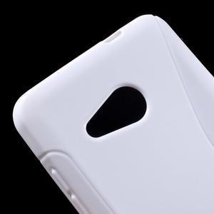 S-line gelový obal na mobil Microsoft Lumia 550 - bílý - 4
