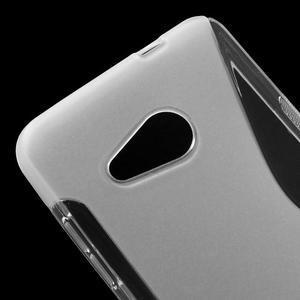 S-line gelový obal na mobil Microsoft Lumia 550 - transparentní - 4