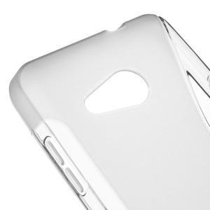 S-line gélový obal pre mobil Microsoft Lumia 550 - sivý - 4