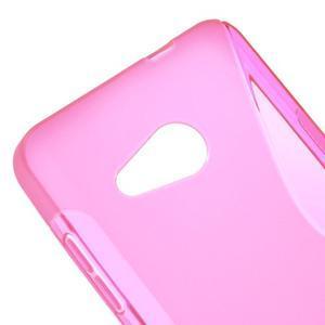 S-line gelový obal na mobil Microsoft Lumia 550 - rose - 4