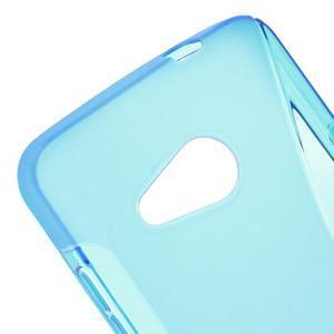 S-line gélový obal pre mobil Microsoft Lumia 550 - modrý - 4
