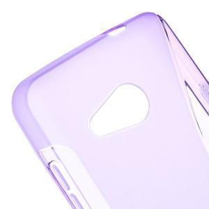 S-line gelový obal na mobil Microsoft Lumia 550 - fialový - 4