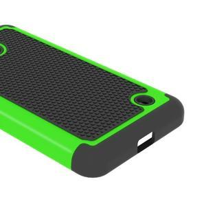 Odolný hybridní kryt na mobil Microsoft Lumia 640 - zelený - 4