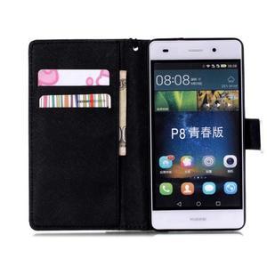 Peněženkové pouzdro Huawei Ascend P8 Lite - nedotýkat se - 4