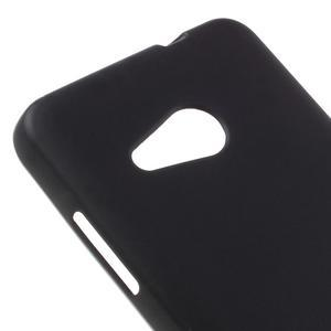 Matný gelový obal na Microsoft Lumia 550 - černý - 4