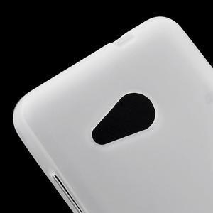 Matný gelový obal na Microsoft Lumia 550 - bílý - 4