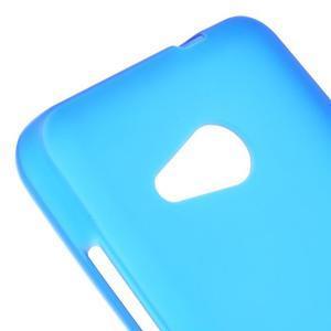 Matný gelový obal na Microsoft Lumia 550 - modrý - 4