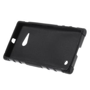 Outdoor odolný kryt na Nokia Lumia 730/735 - černý - 4