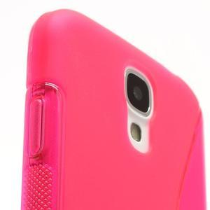 S-line gelový obal na Samsung Galaxy S4 - rose - 4