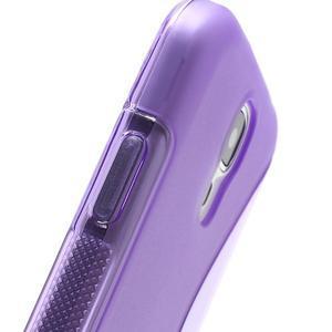S-line gelový obal na Samsung Galaxy S4 - fialový - 4