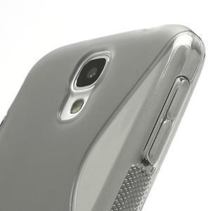 S-line gelový obal na Samsung Galaxy S4 - šedý - 4