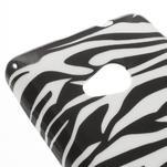Soft gelový obal na Microsoft Lumia 535 - zebra - 4/5