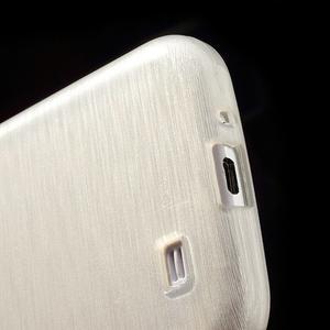 Gelový kryt s broušeným vzorem na Samsung Galaxy S4 - bílý - 4