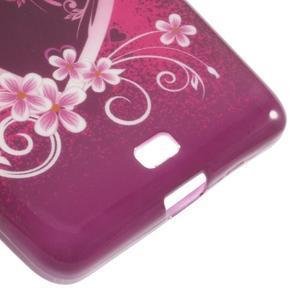 Soft gelový obal na Microsoft Lumia 535 - srdce - 4