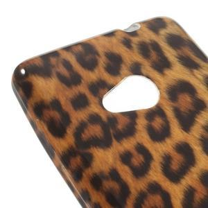 Soft gelový obal na Microsoft Lumia 535 - leopard - 4