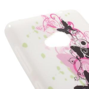 Soft gelový obal na Microsoft Lumia 535 - elegantní motýlci - 4