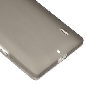 Matný gelový kryt pro Nokia Lumia 930 - šedý - 4