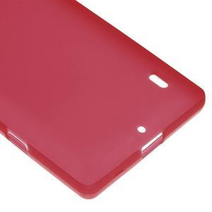 Matný gelový kryt pro Nokia Lumia 930 - červený - 4