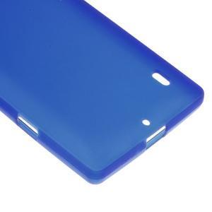 Matný gelový kryt pro Nokia Lumia 930 - modrý - 4