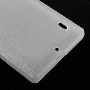 Gelový obal s broušeným vzorem Nokia Lumia 930 - bílý - 4