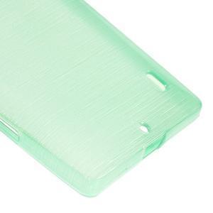 Gelový obal s broušeným vzorem Nokia Lumia 930 - cyan - 4