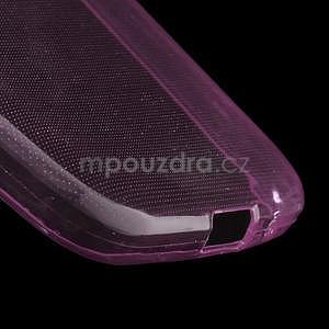Ultra tenký slim obal na Samsung Galaxy Core Prime - růžový - 4