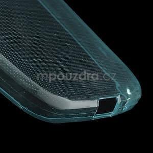 Ultra tenký slim obal na Samsung Galaxy Core Prime - světle modrý - 4