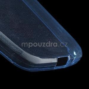 Ultra tenký slim obal na Samsung Galaxy Core Prime - tmavě modrý - 4
