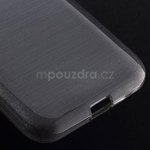 Broušený gelový kryt na Samsung Galaxy Core Prime - šedý - 4
