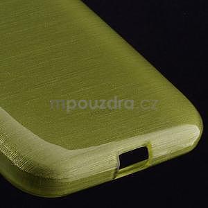 Broušený gelový kryt na Samsung Galaxy Core Prime - zelený - 4