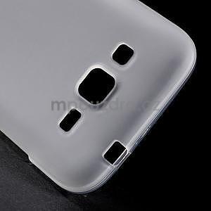 Bílý matný gelový kryt Samsung Galaxy Core Prime - 4