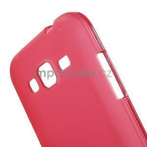 Červený matný gelový kryt Samsung Galaxy Core Prime - 4