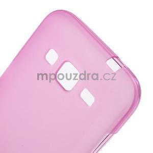 Rose matný gelový kryt Samsung Galaxy Core Prime - 4