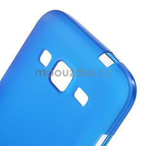 Modrý matný gelový kryt Samsung Galaxy Core Prime - 4
