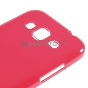Lesklý gelový obal na Samsung Galaxy Core Prime - rose - 4