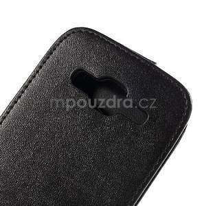 Flipové pouzdro Samsung Galaxy Core Prime - černé - 4