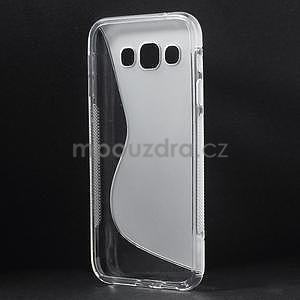 Transparentní gelový obal Samsung Galaxy E5 - 4