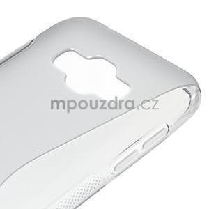 S-line gelový obal na Samsung Galaxy E7 - šedý - 4