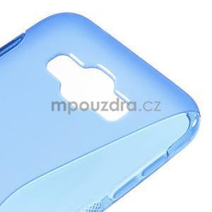 S-line gelový obal na Samsung Galaxy E7 - modrý - 4