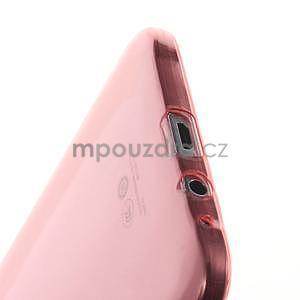 Ulta tenký obal na Samsung Galaxy E7 - červený - 4