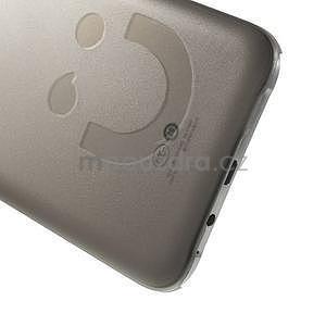 Plastový kryt na mobil Samsung Galaxy E7 - šedý - 4