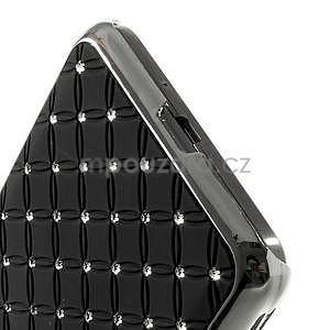 Černý drahokamový kryt na Samsung Grand Prime - 4