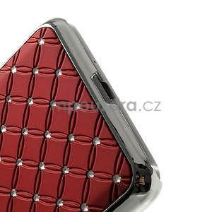 Červený drahokamový kryt na Samsung Grand Prime - 4