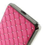 Růžový drahokamový kryt na Samsung Grand Prime - 4/6
