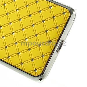 Žlutý drahokamový kryt na Samsung Grand Prime - 4