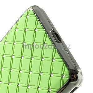Zelený drahokamový kryt na Samsung Grand Prime - 4