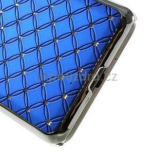 Modrý drahokamový kryt na Samsung Grand Prime - 4